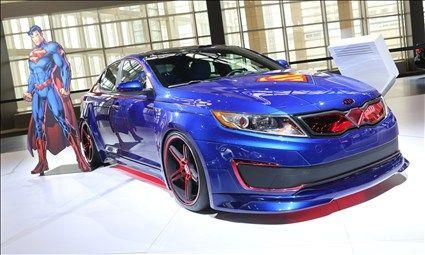 Kia Superman Optima | I Want a Fast Car | Pinterest | Cars, Custom ...