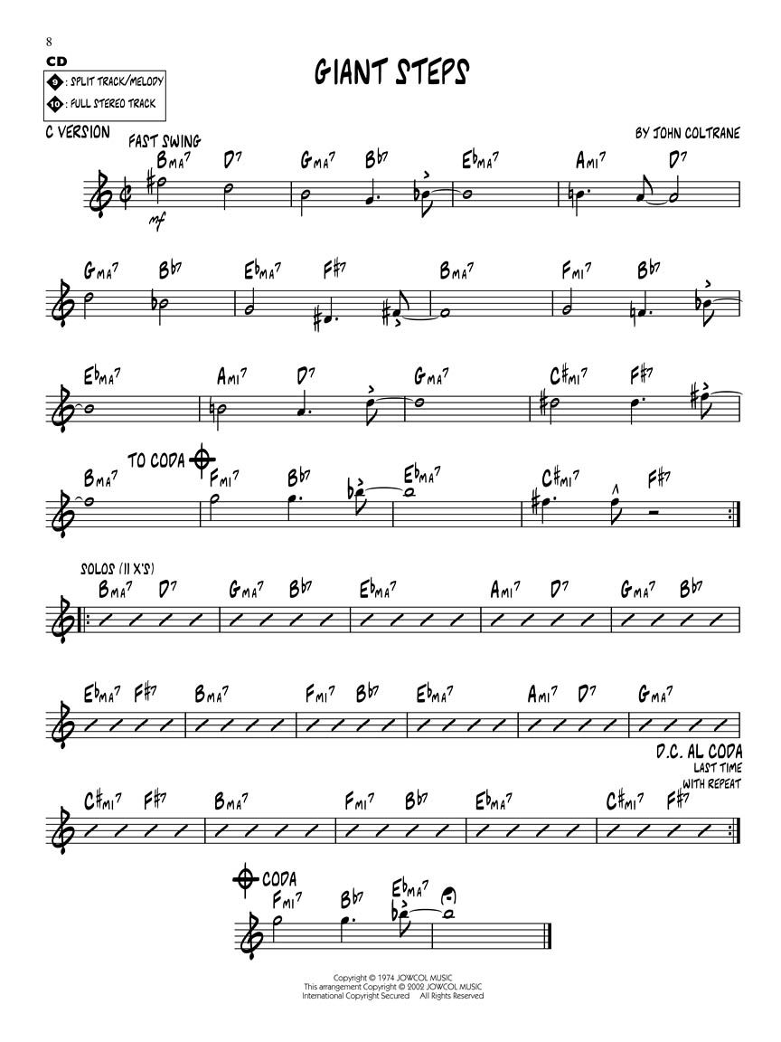 Resultado de imagen para equinox lead sheet pdf | Music notes