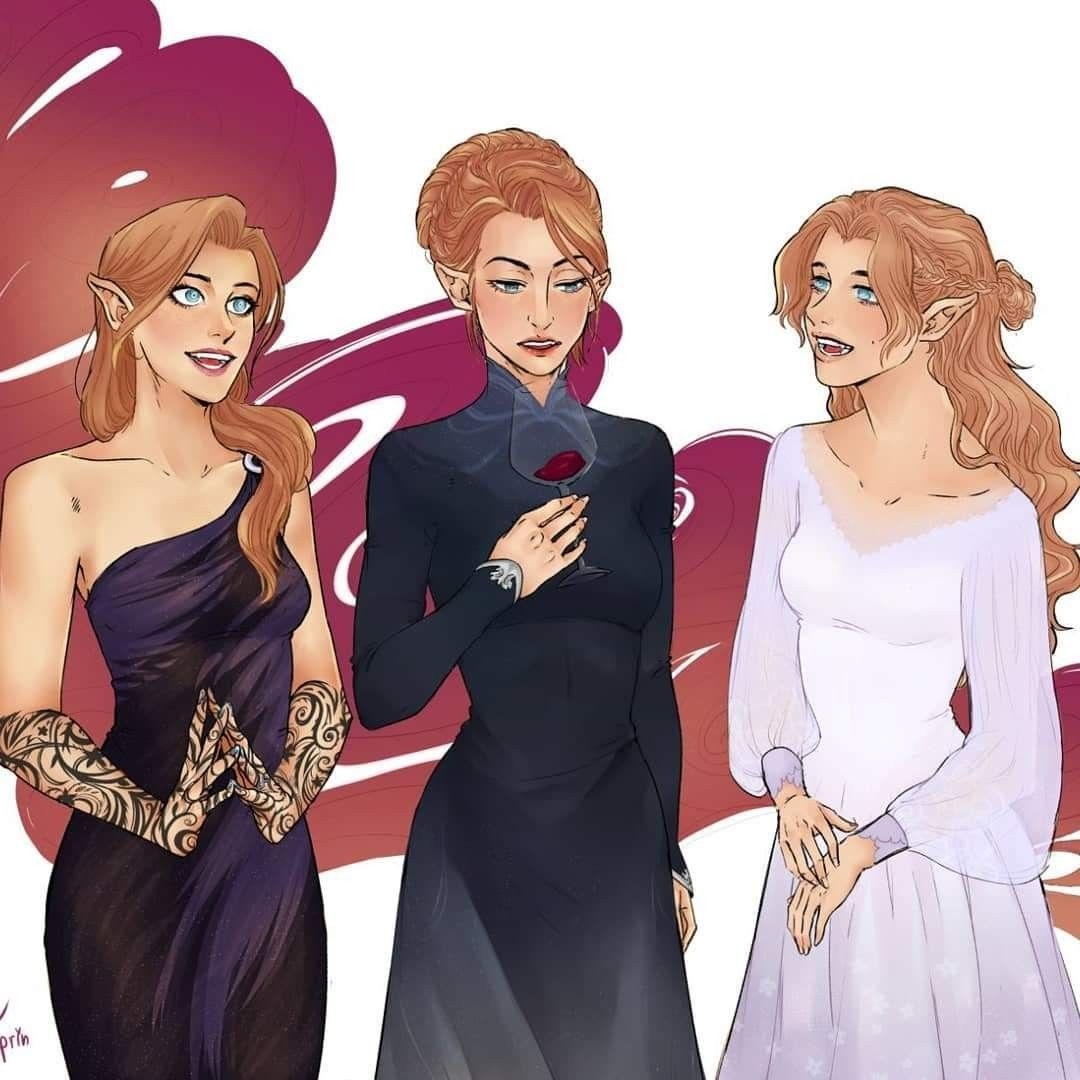 Pin By Peri Navarro On Fantasy Art In 2020 Feyre And Rhysand A