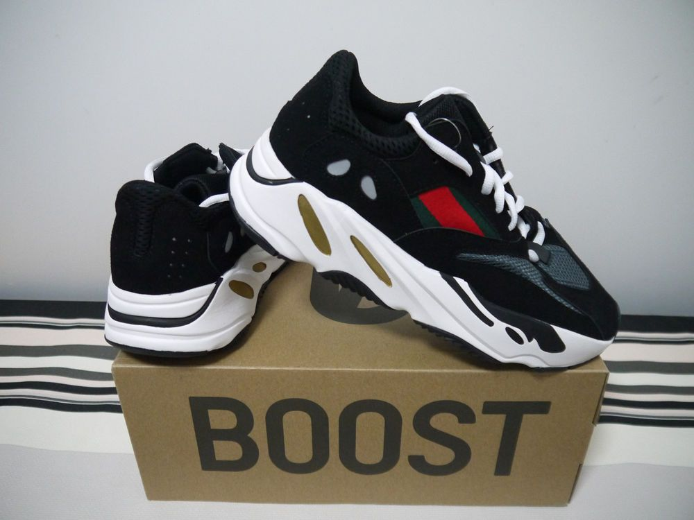 6d13b8eb4 Adidas Yeezy Wave Runner 700 Black   Green-Red 2018 Running Sneakers Size  9.5  fashion  clothing  shoes  accessories  mensshoes  athleticshoes (ebay  link)