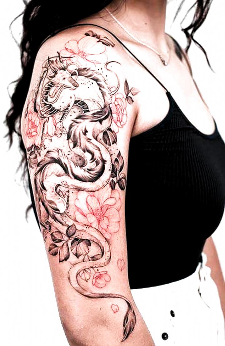 , 20 Fierce Dragon Tattoo Designs for Women – The Trend Spotter, My Tattoo Blog 2020, My Tattoo Blog 2020