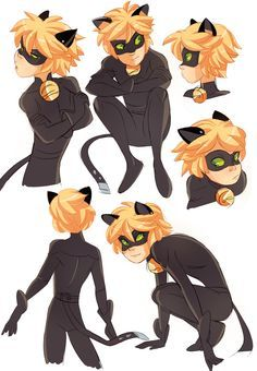 cat adrien miraculous ladybug - Google Search