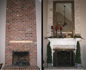 Toni Berry How To Update A Red Brick Fireplace San Jose Mercury News