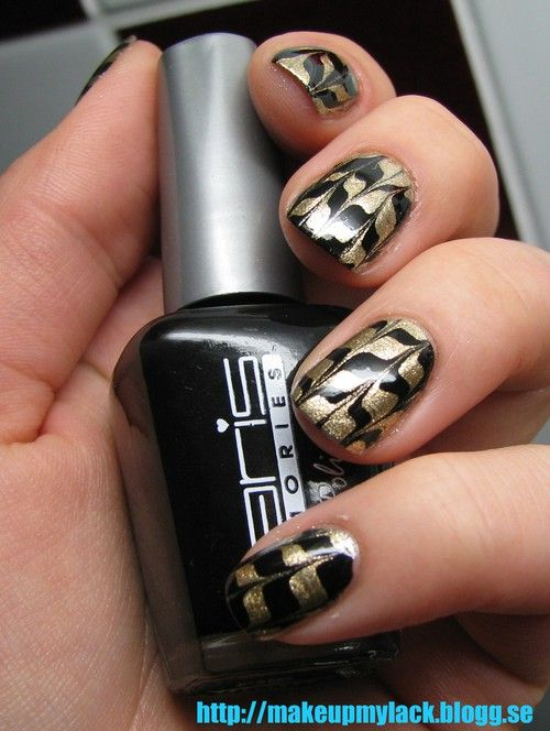 MakeupMyLack - Marble nails without water- tutorial | the beauty ...