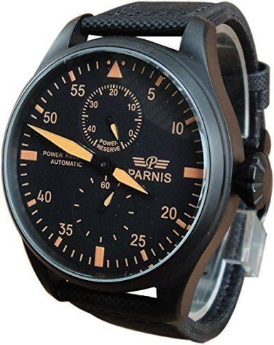 Parnis Pilot Big Diameter Automatic Watch With Seagull Movement
