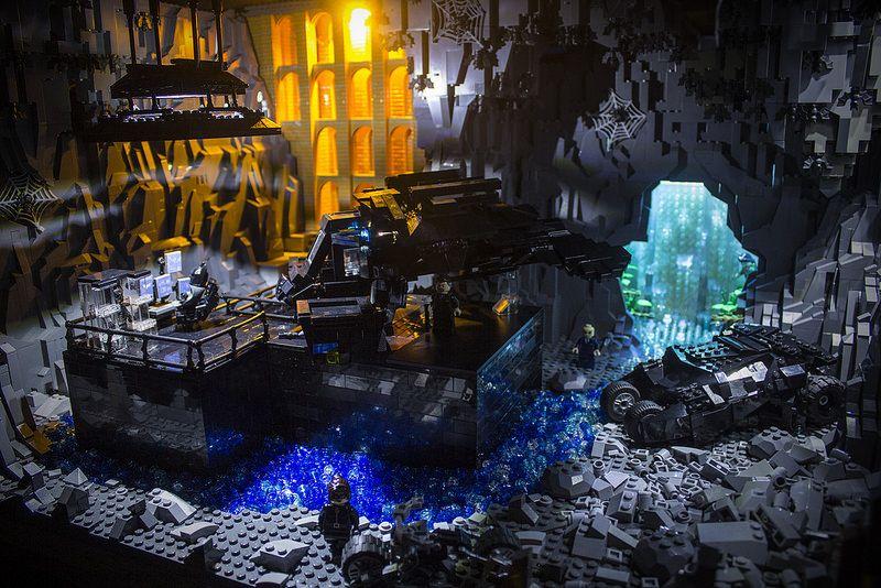 Brent Waller Lego Batman Dark Knight Rises Batcave | LEGOz ...