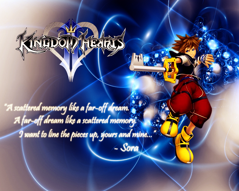 Kingdom Hearts Quotes Sora's Qoute. Kingdom Hearts  Pinterest  Kingdom Hearts Ii