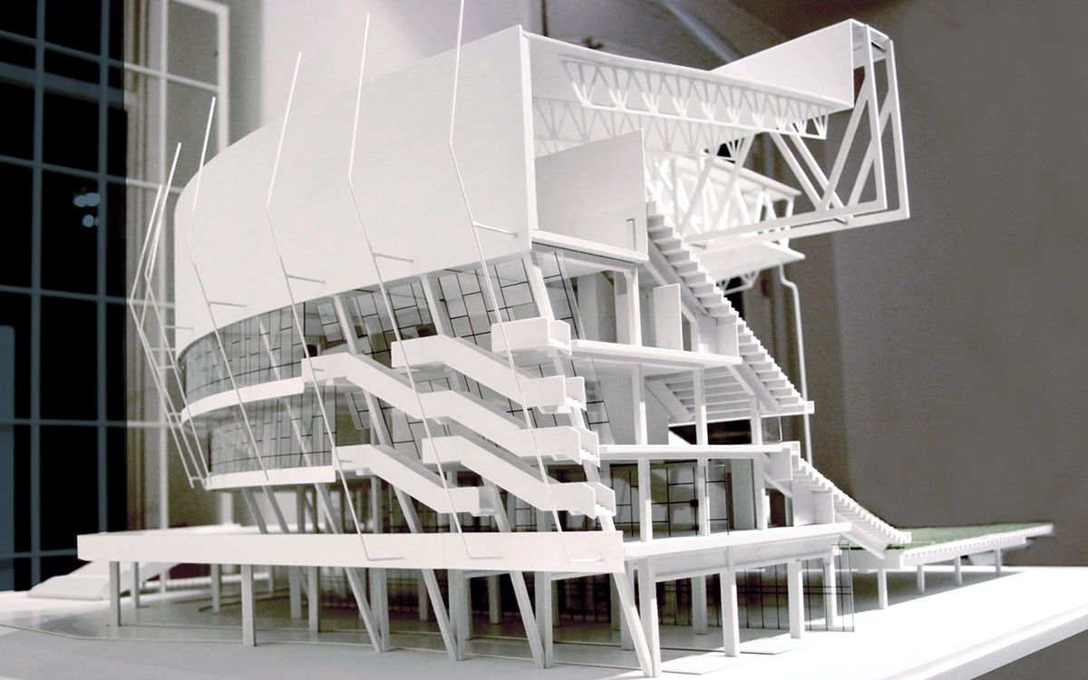 Building Architectural Models 3d #printed architectural model of a building. start making your