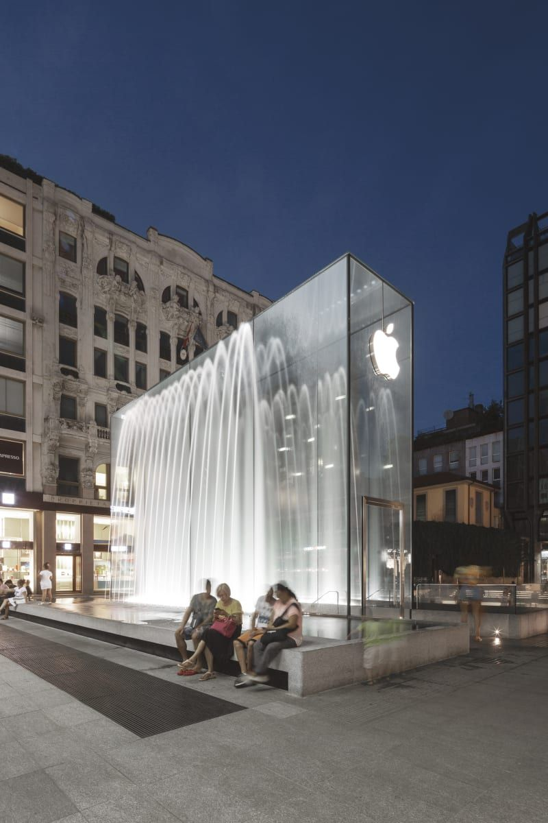 Foster Partners Giovanni Nardi Apple Piazza Liberty Foster Partners The Fosters Architecture