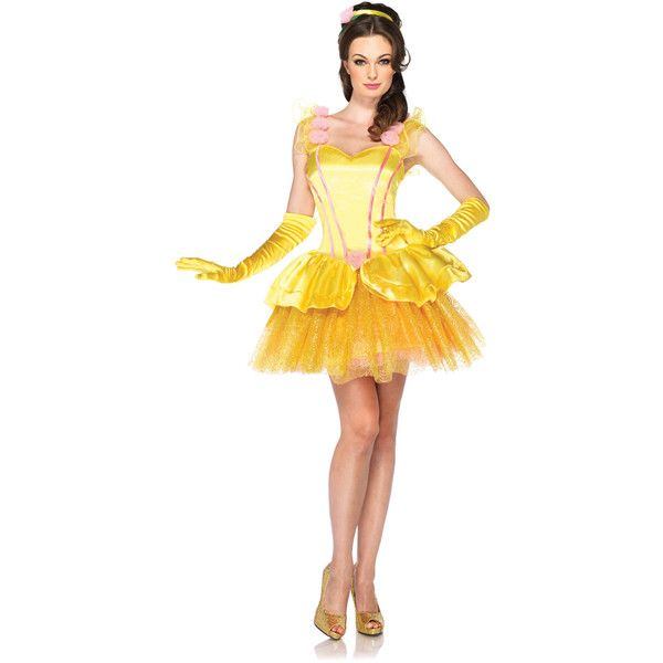 190 brl liked on polyvore featuring costumes disney halloween costumes princess costume princess belle costume disney and adult women costumes