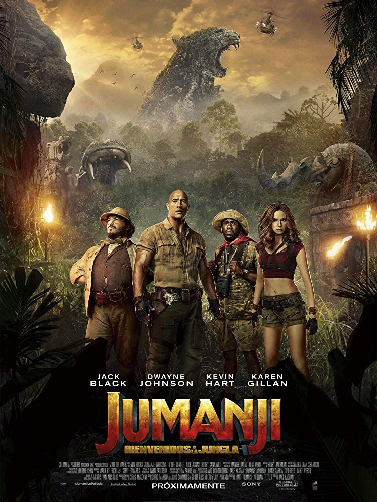 Telecharger Jumanji Next Level Streaming Fr Hd Gratuit Francais Complet Download Free English Jumanj Welcome To The Jungle Original Movie Posters Full Movies