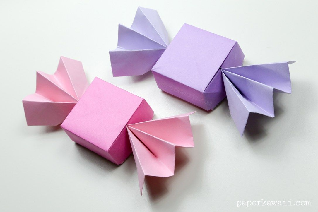 Origami Candy Box Lid Instructions Origami Pinterest Origami
