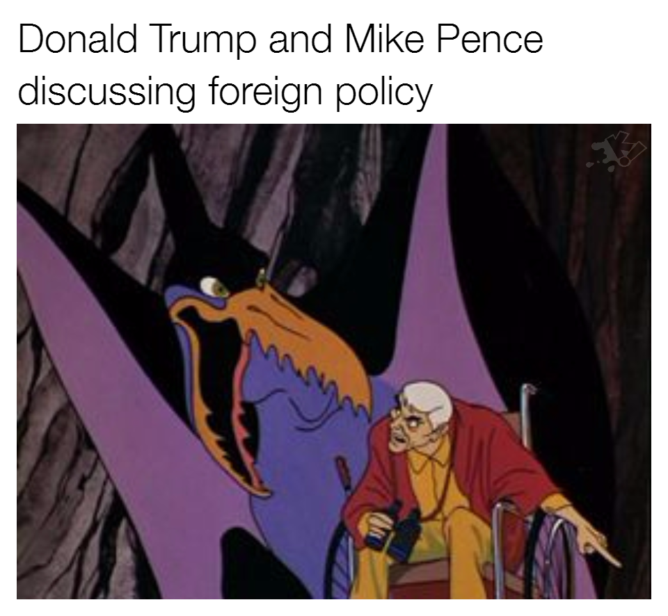 Image Result For Mike Pence Barron Trump Meme Pence Memes Trump Memes Barron Trump Meme