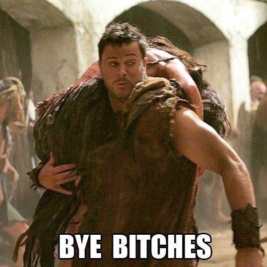 Can We Just Pretend That This Is Agron Running Off With Nasir Like