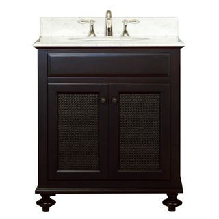 """Check out the Water Creation LONDON30 London 30"""" Wide Single Sink Bathroom Vanity - Vanity Top Included priced at $906.63 at Homeclick.com."""