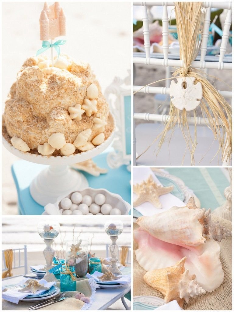 Beach Themed Bridal Shower Ideas Themed bridal showers Bridal