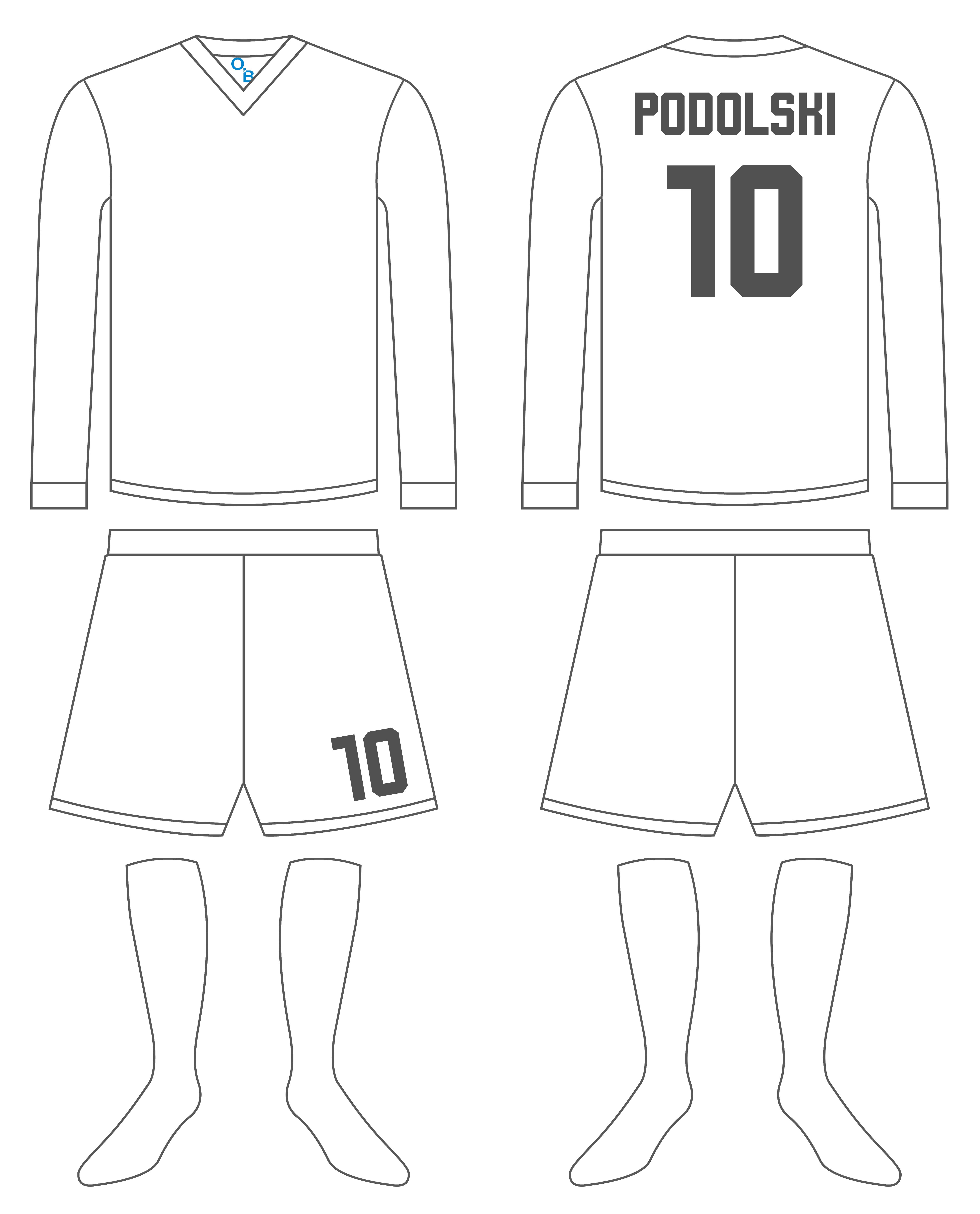 Soccer Kit Template 2 By Timeobrienviantart On Deviantart