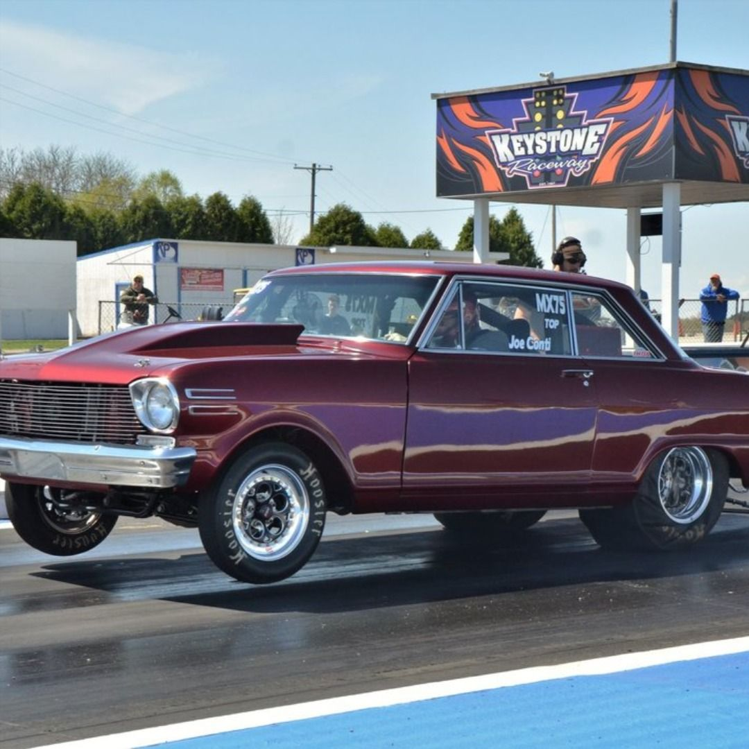 Chevy II Race Car For Sale. 441ci Engine Built By Scott