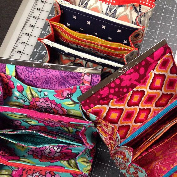 Instant Download - PDF Sewing Pattern - Prima Diva Clutch Wallet ...