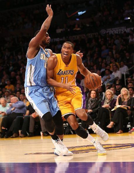 Denver Nuggets Vs Los Angeles Lakers Photos February 10 2015 Espn Denver Nuggets Los Angeles Lakers Basketball Photos
