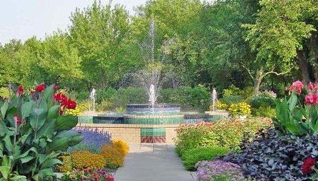 Aas Display Garden Botanica The Wichita Gardens In