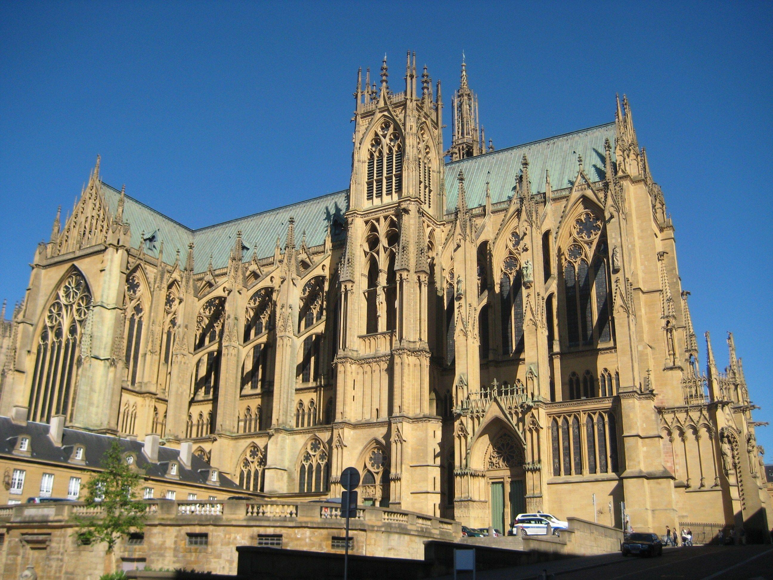 Metz cathedral metz france france pinterest for Maison d en france metz