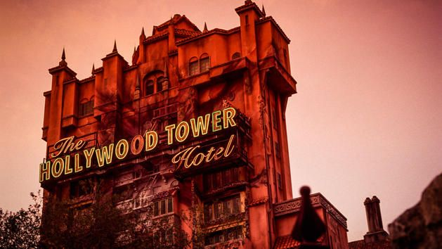 Tower of Terror at Disney's Hollywood Studios