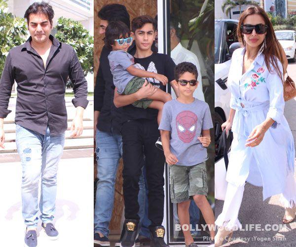 Arbaaz Khan and Malaika Arora's son Arhaan is a responsible teenager – view HQ pics #FansnStars
