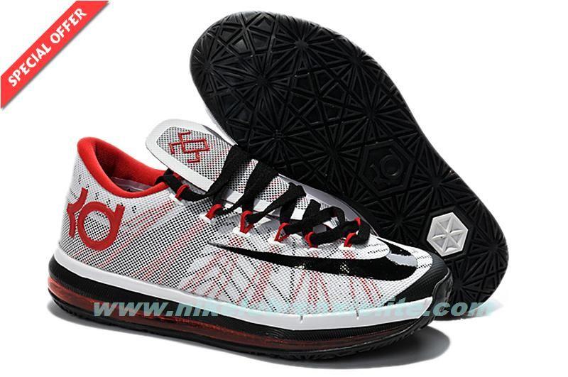 Black � 2014 Black White Red Custom Nike KD VI ...