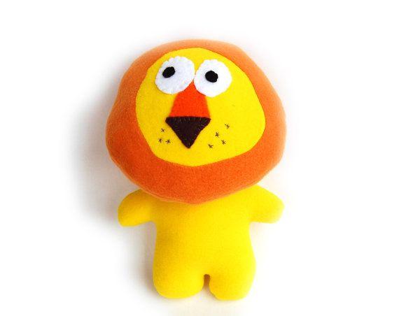 Pattern Lion Plush soft toy PDF INSTANT by ToysPatternClub, $6.00 ...