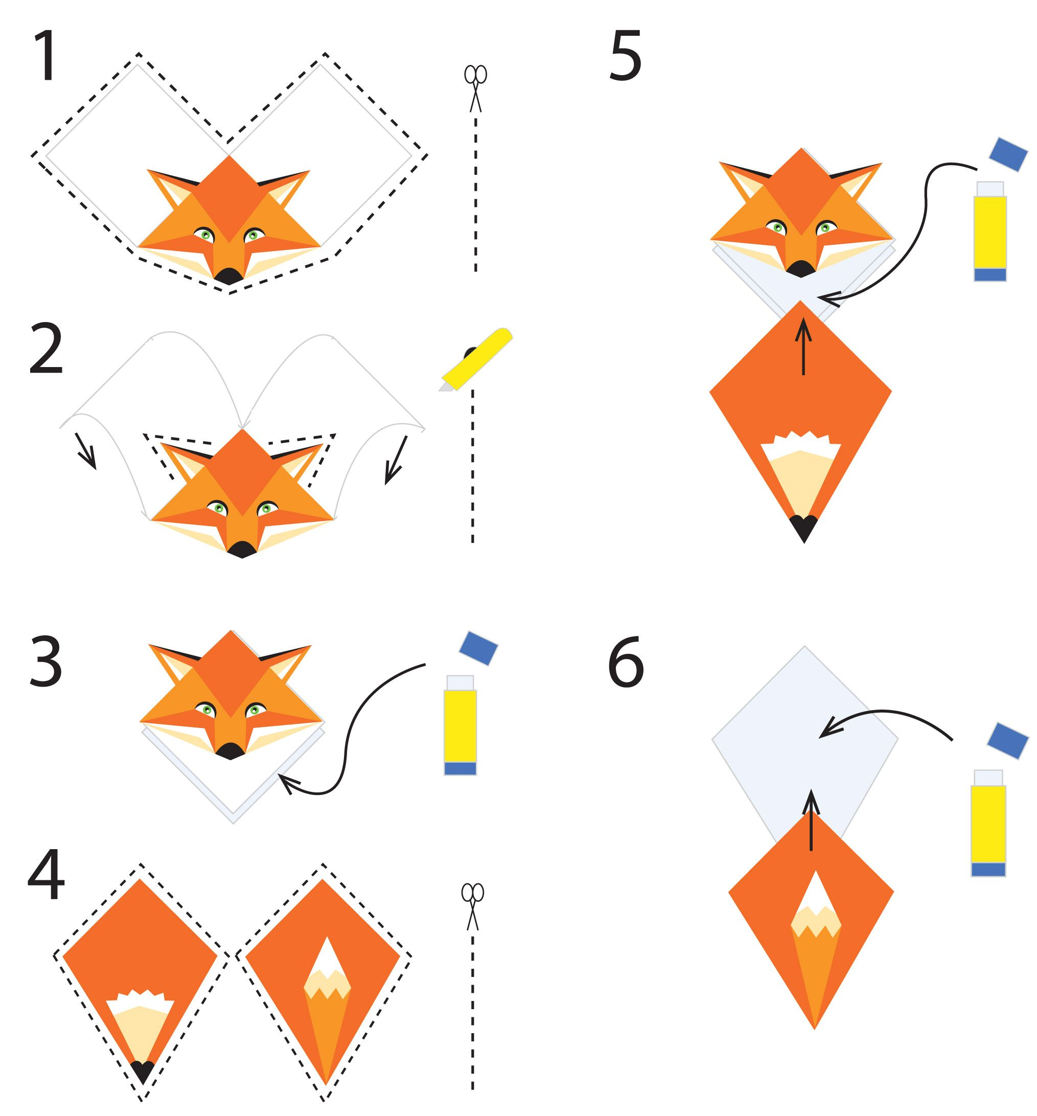 origami corner bookmark printable instructions