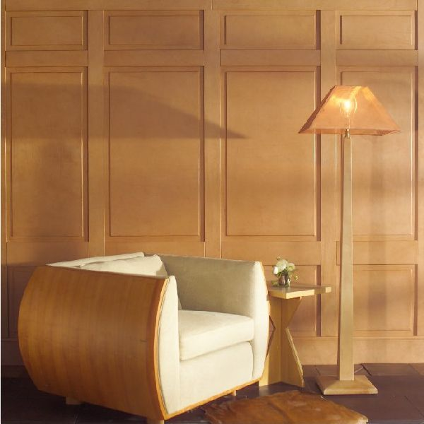 Library Den Atlanta Home Of Interior Designer Peggy: Natural Color Wood Paneling For Walls: Wood Paneling For