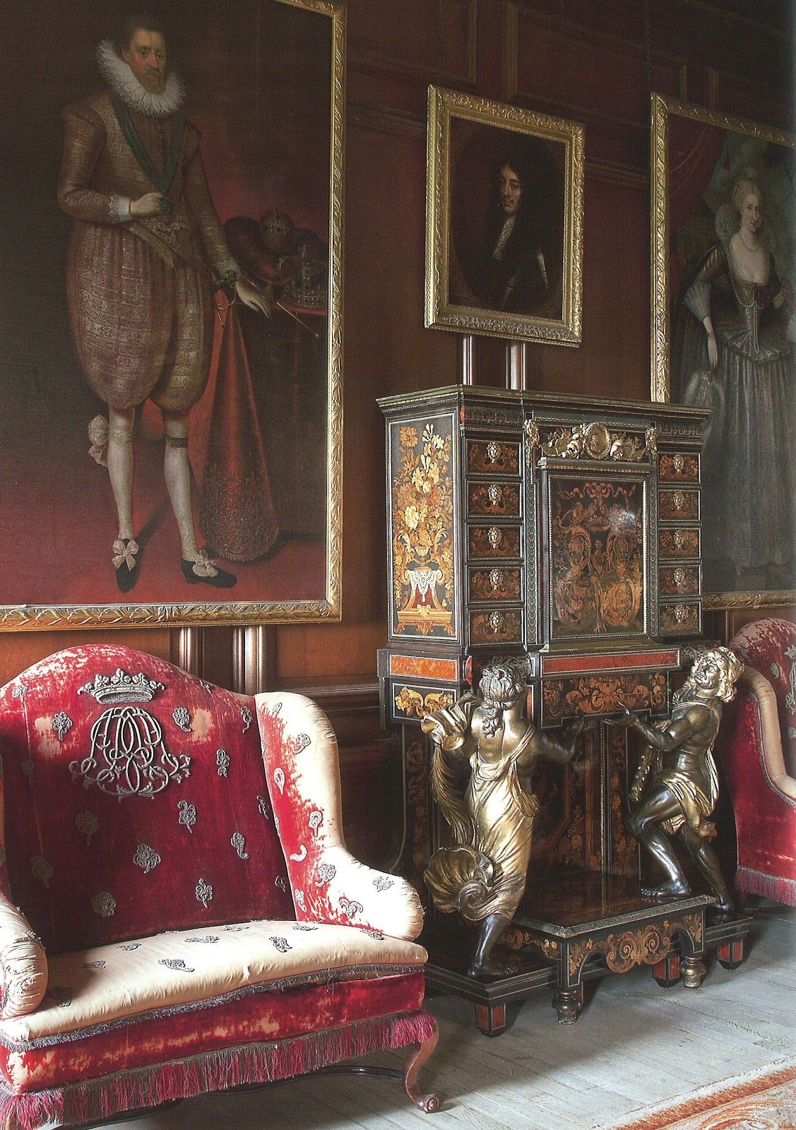 A Room In Scotland From The Book THE SCOTTISH COUNTRY HOUSE