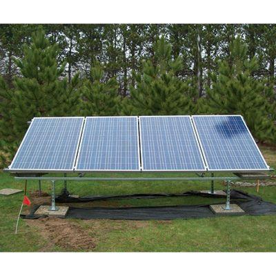 Solarpod Solar Pv System 920 Watts 4 Panels Model 1001 Solar Panels Best Solar Panels Solar