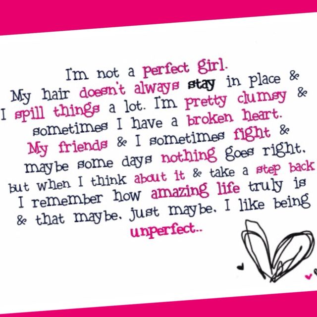 Perfection Is Overrated Quotes 3 Love Quotes For Him Cute