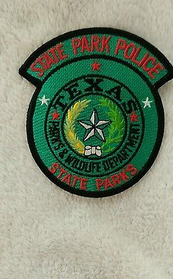 Texas Police Patch State Park Police Parks Wildlife Dept Unused Police Patches Texas Police Police