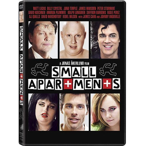 Small Apartments Comes To Dvd On Tuesday February 19 2017 Cast Matt Lucas Dolph Lundgren James Caan Billy Crystal Marsden Johnny Knoxville