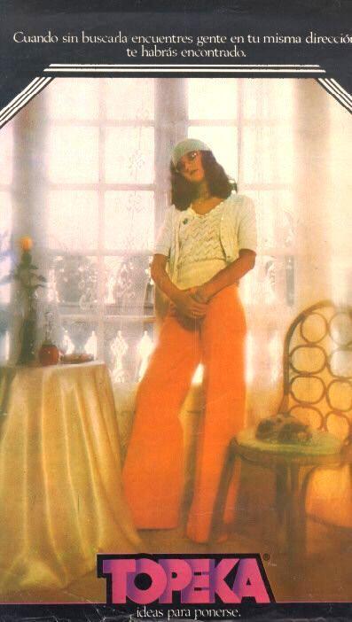 Pantalones Topeka Decada Del 70 Famosos Glamour