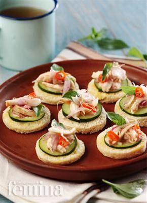 Femina Co Id Canape Salad Ayam Canape Resep Kesehatan