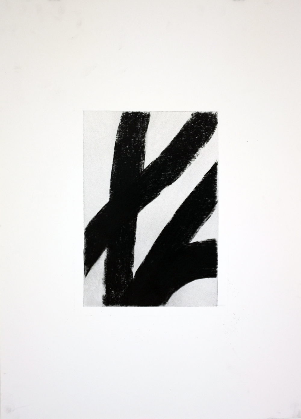Kenneth Jaworski- Monochrome Figure II No. 3 (Batavia). Charcoal on paper. 50cm x 70cm. Signed and stamped on reverse. For inquiries, please contact the artist.