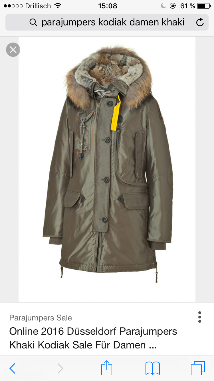 New Parajumpers Kodiak Khaki for Sale