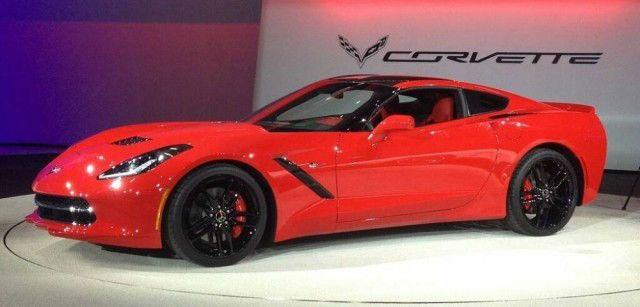 2017 Chevrolet Corvette Z06 Red