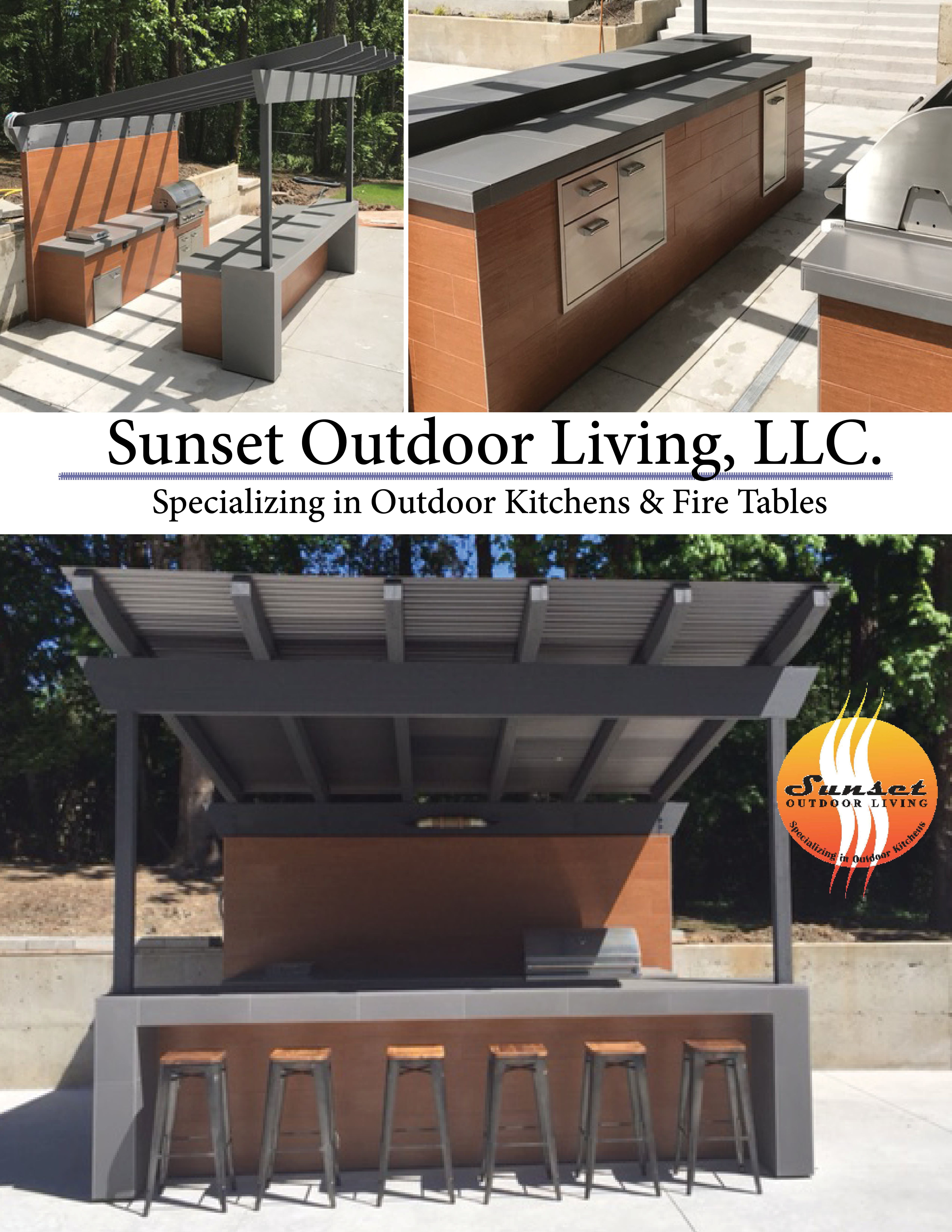 June 2017 Custom Outdoor Kitchen In Portland Oregon Custom Created In Our Facility Then Delivered Installed With Images Outdoor Living Design Outdoor Kitchen Outdoor