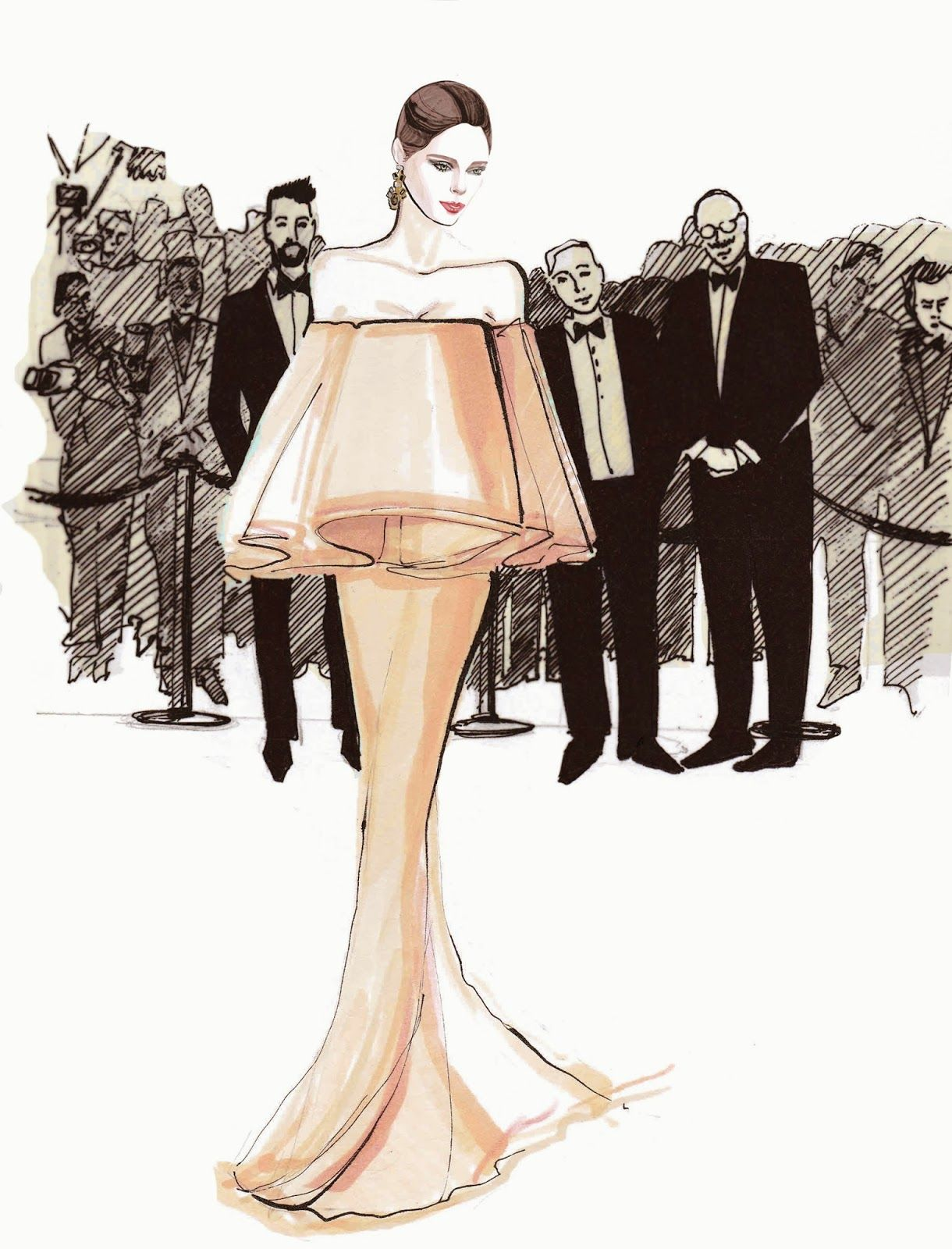Fashion Design Ideas best 20 fashion design sketches ideas on pinterest fashion sketches fashion design illustrations and art terminology Fashionary Hand A Fashion Illustration Blog