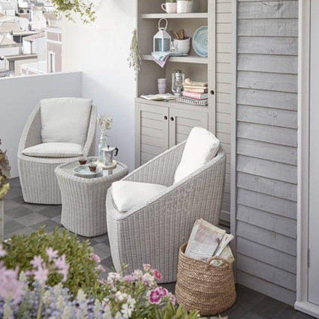 Gotowy Zestaw Mebli Balkonowych Blooma Pilares Rattanowy Gotowe Outdoor Furniture Sets Furniture Home Decor