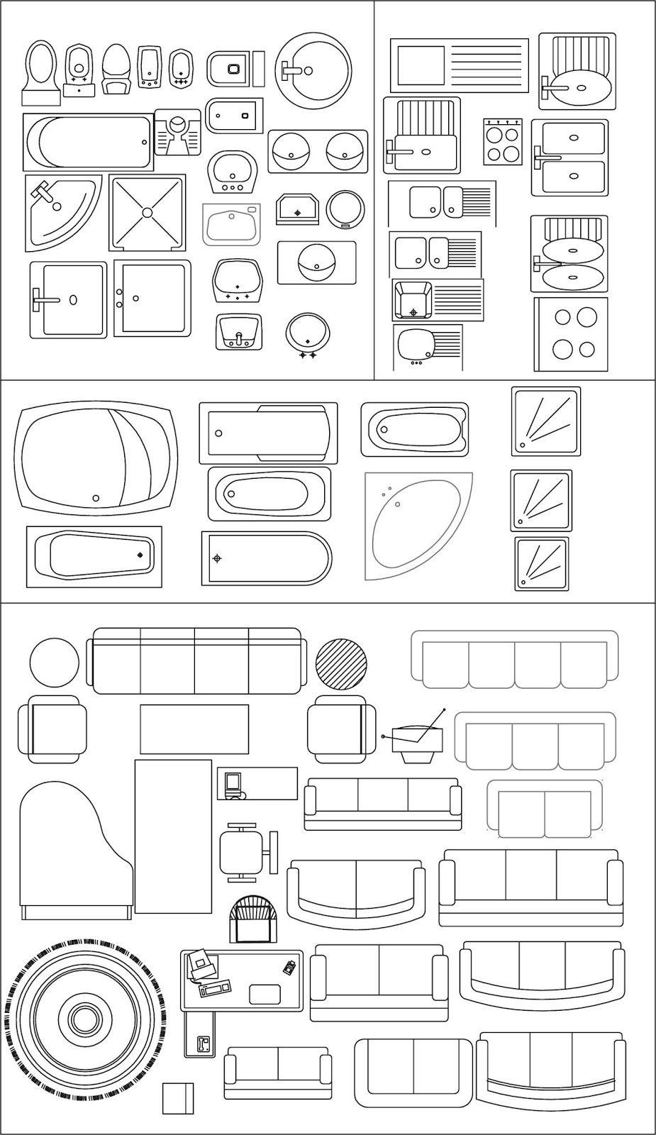 Ideark cali softwares aplicados a dise o ingenieria y for Dibujos de muebles para planos arquitectonicos
