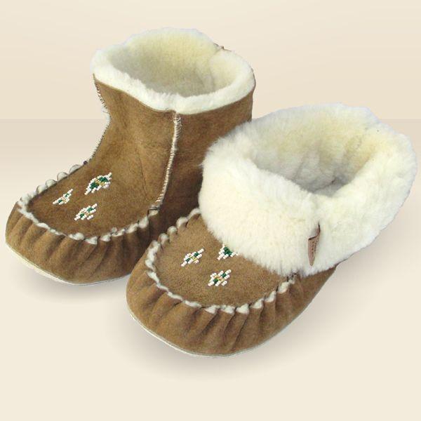 3023535d1af6b Women's Genuine Sheepskin Slippers - KB88 | Moccasin Slippers ...