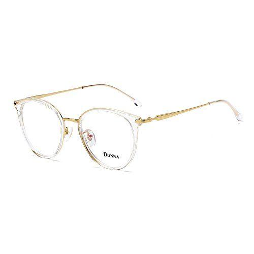 d125f00727d6 DONNA Vintage Fashion Eyeglass Round Frame Unisex Computer Reading Glasses  DN48
