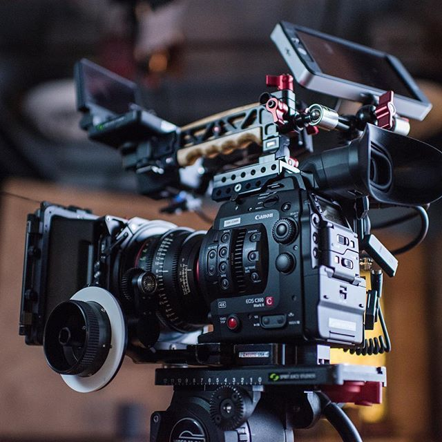 😍 What are your gear goals? Sweet Canon C300 Mark II, setup