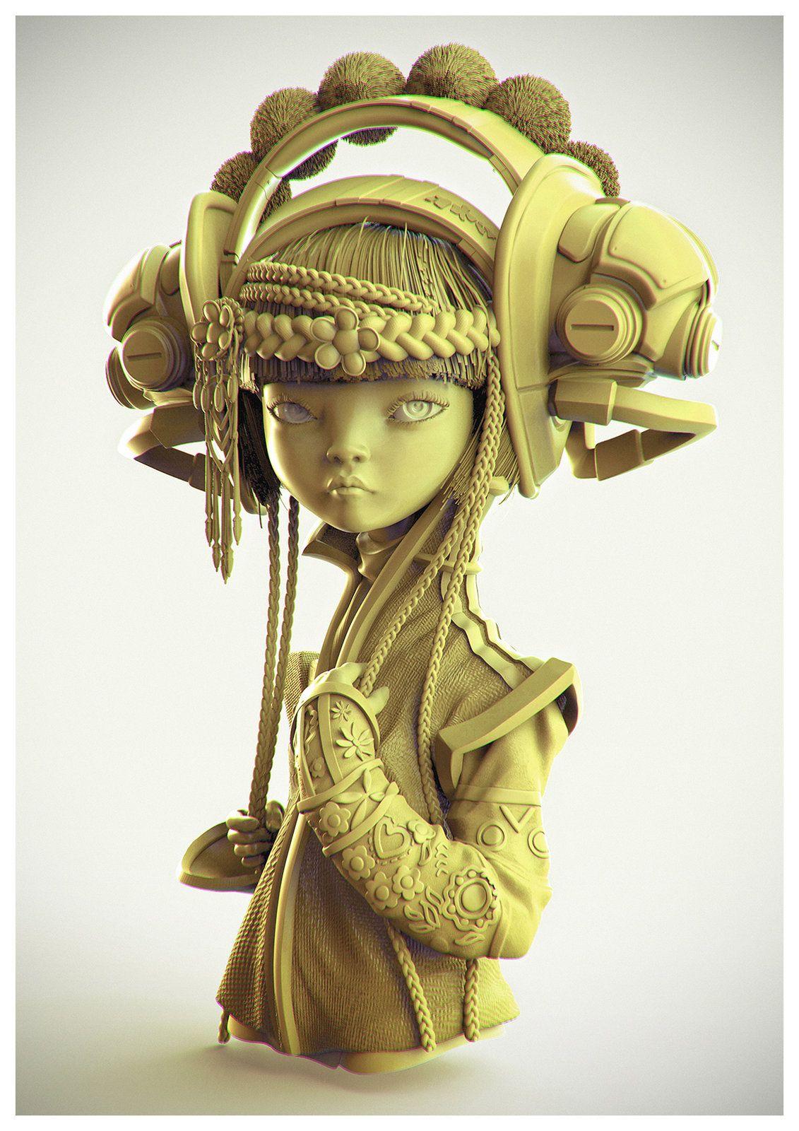3d Character Design Book : Etsuko project behind the pixels book d daniel orive